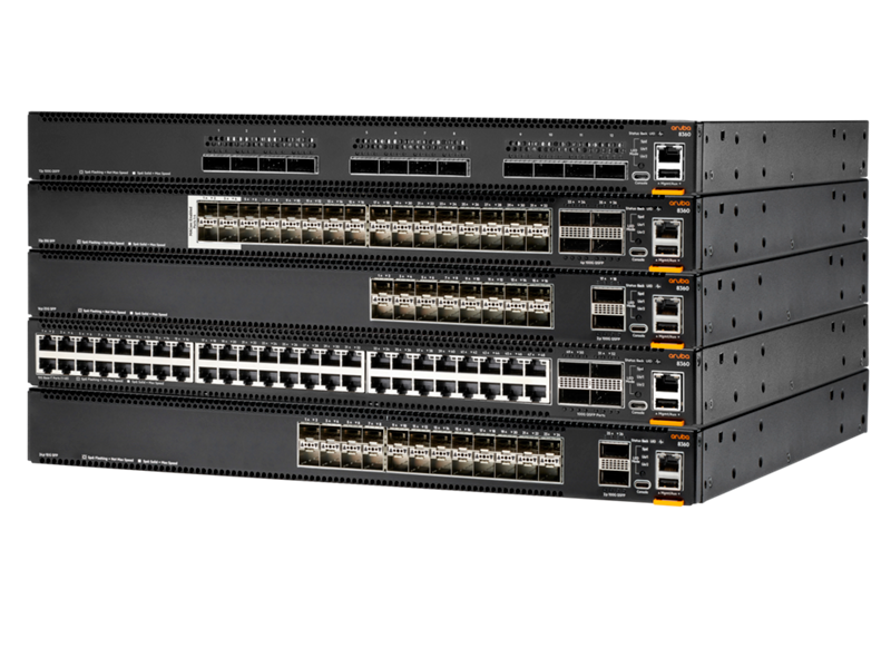 Aruba 8360 switch series family