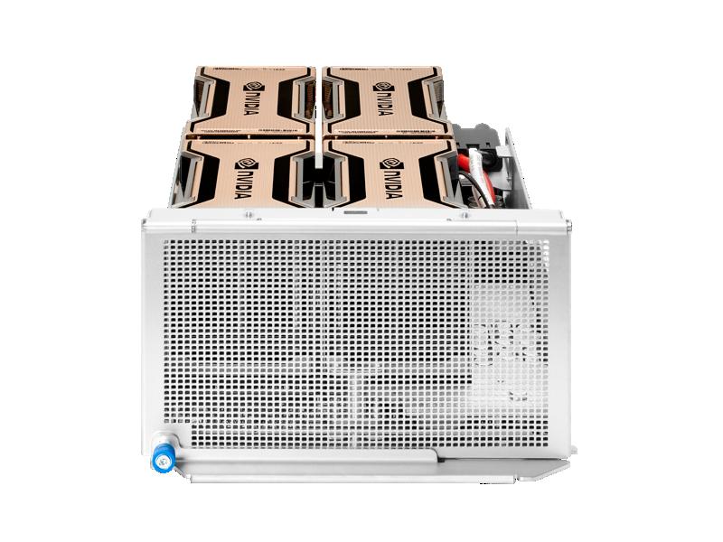 HPE Apollo 6500 Gen10 Plus System with the XL645d single processor server,