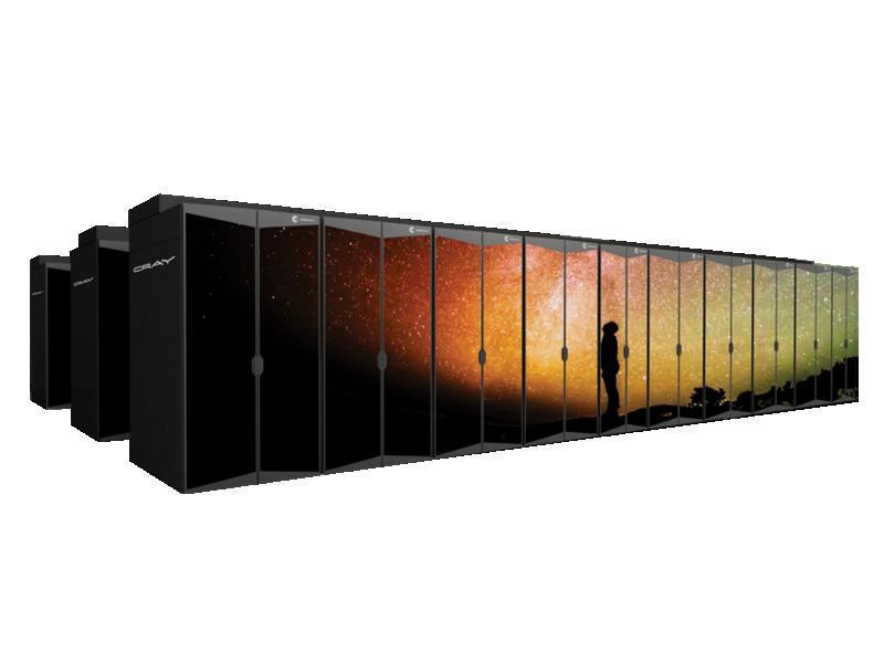Cray Liquid Cooled Supercomputer