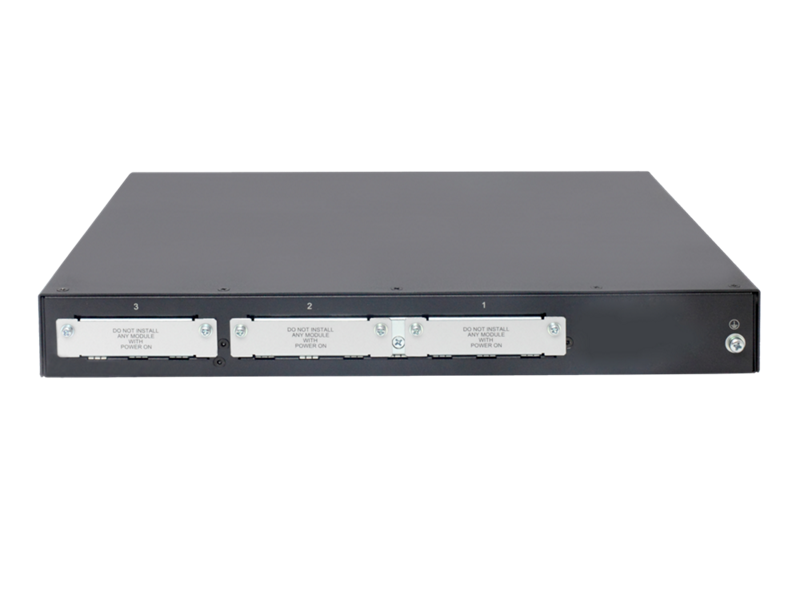 HPE MSR2003 AC Router, back facing