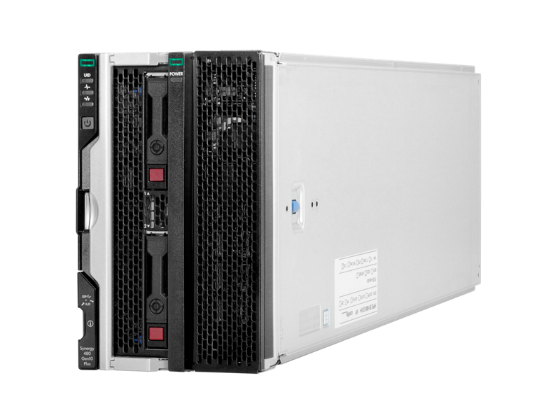 HPE Synergy 480 Gen10 Plus Base Configure-to-order Compute Module with Expansion Module