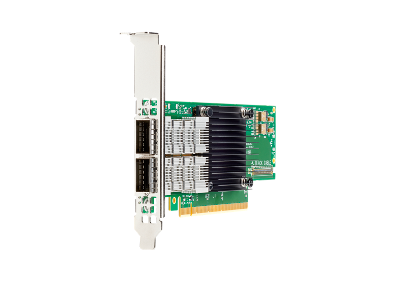 HPE Parallel File System InfiniBand HDR/Ethernet 200Gb 1-port QSFP56 MCX653105A-HDAT Adapter