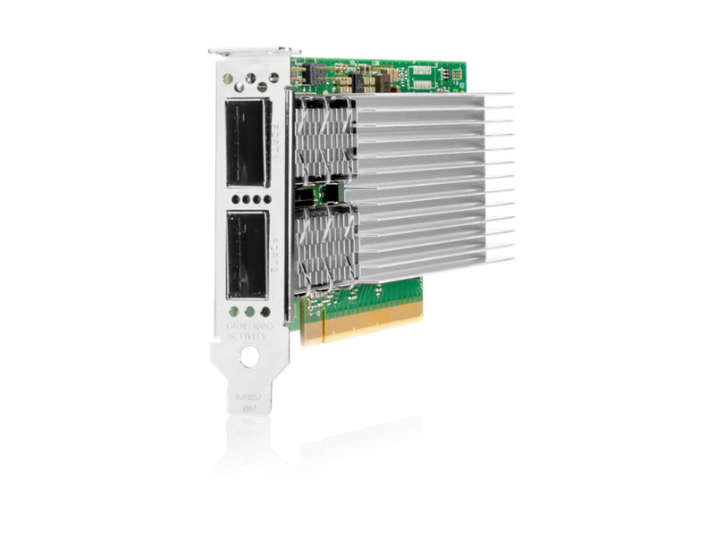 Intel E810-CQDA2 Ethernet 100Gb 2-port QSFP28 Adapter for HPE