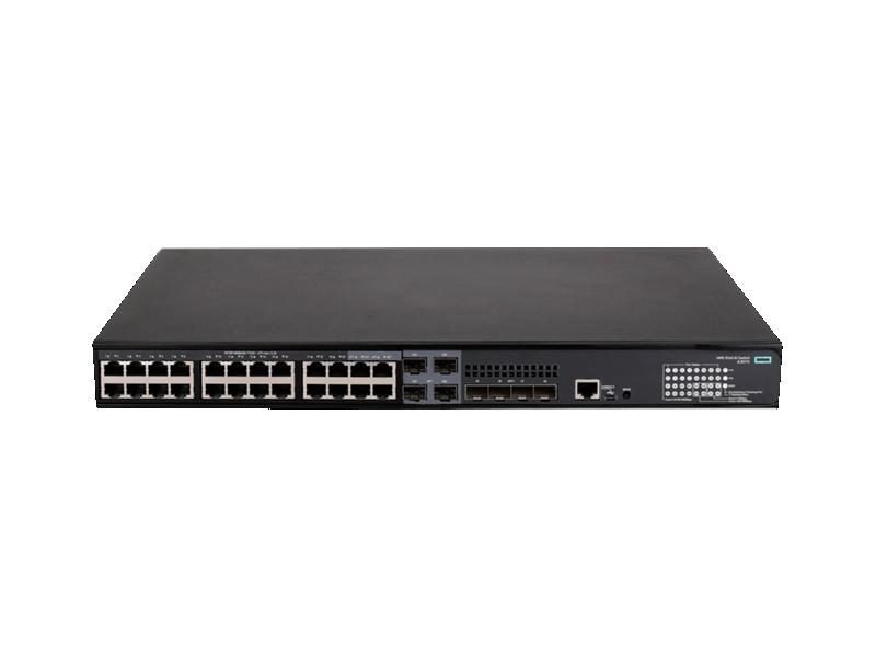 HPE FlexNetwork 5140 24G PoE+ 4SFP+ EI Switch