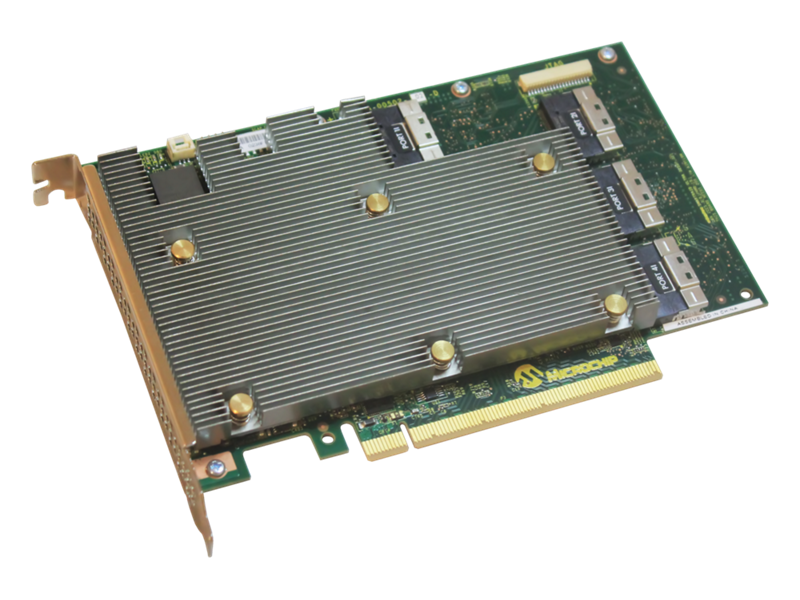 Microchip SmartRAID Controllers for HPE Gen10 Plus