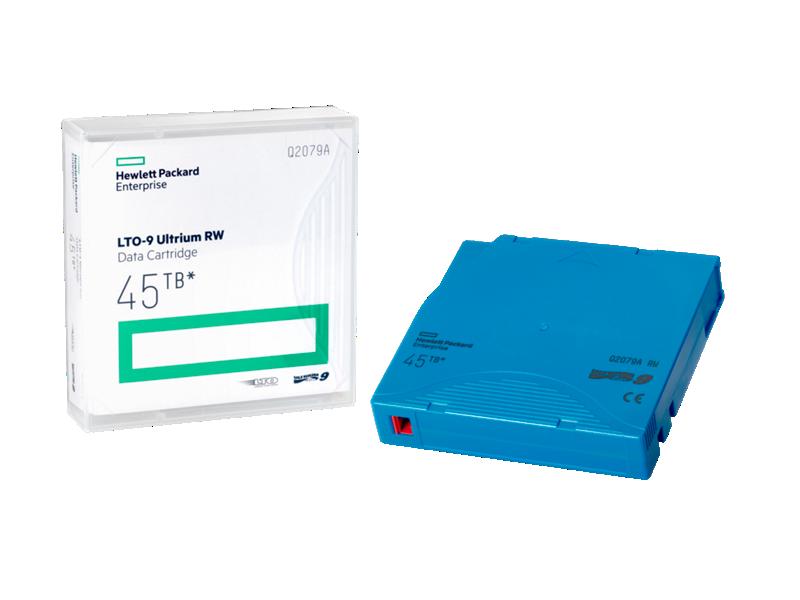 HPE LTO-9 Ultrium RW Data Cartridge 45TB